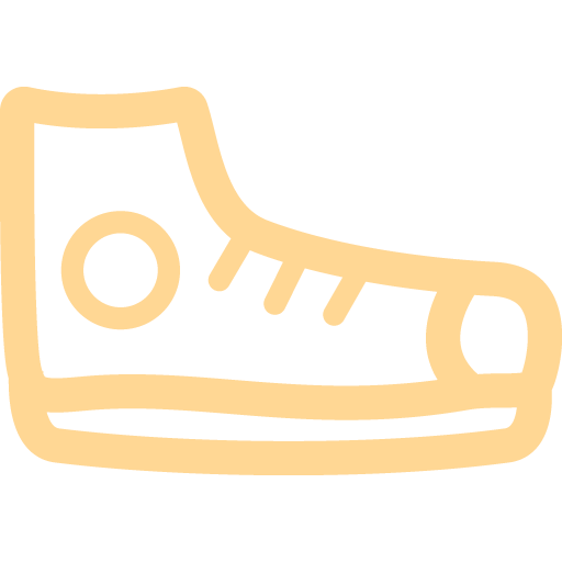 Tours closed toe shoes icon