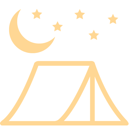 Tent sites icon