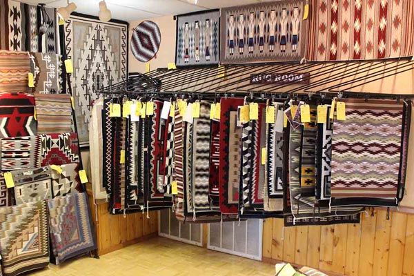 Goulding's Gift Shop handmade rugs