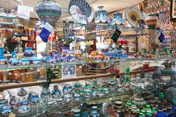 Goulding's Gift Shop pottery