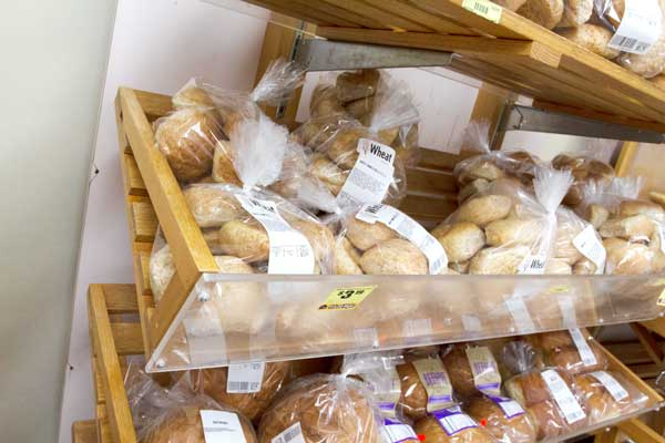 Goulding's Grocery store bread section
