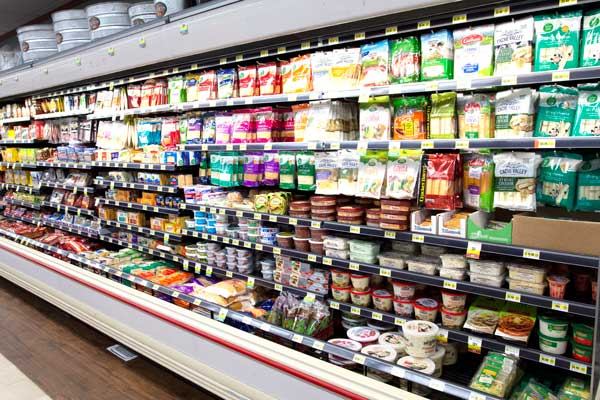 Goulding's Grocery store cheese section