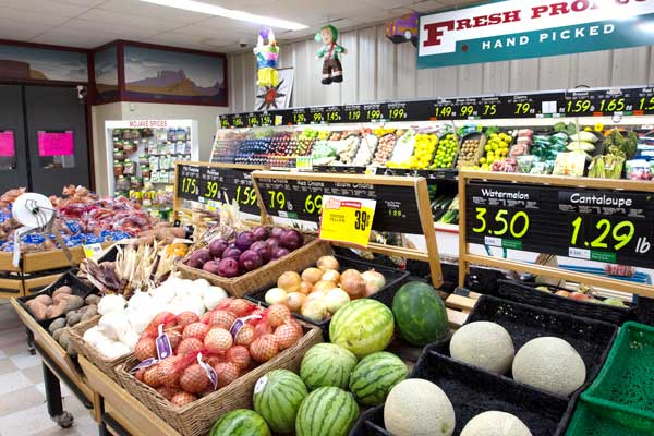 Goulding's Grocery store produce