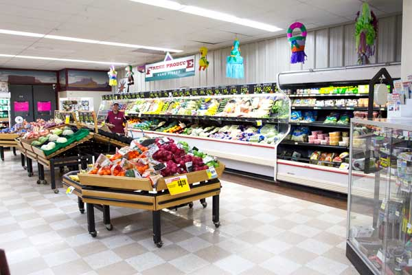 Goulding's Grocery store produce photo