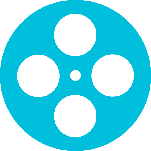 earth-spirit-theater-movie-reel-icon-blue