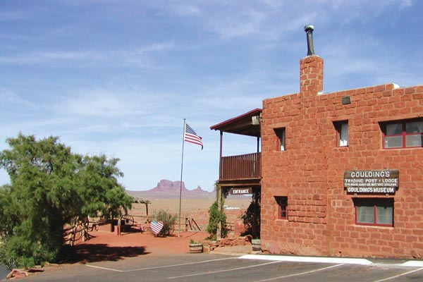 Goulding's Museum in Monument Valley
