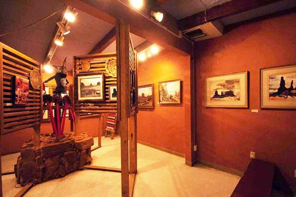 Goulding's Museum photo of interior