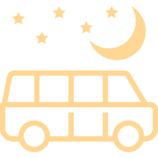Nightly shuttle icon