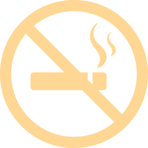 Non-smoking rooms icon