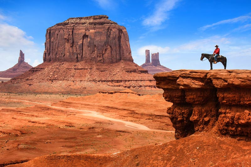 Monument Valley and Hollywood create John Ford's Point
