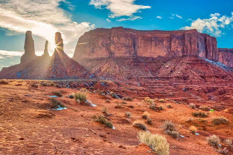 Visit Monument Valley and Three Sisters