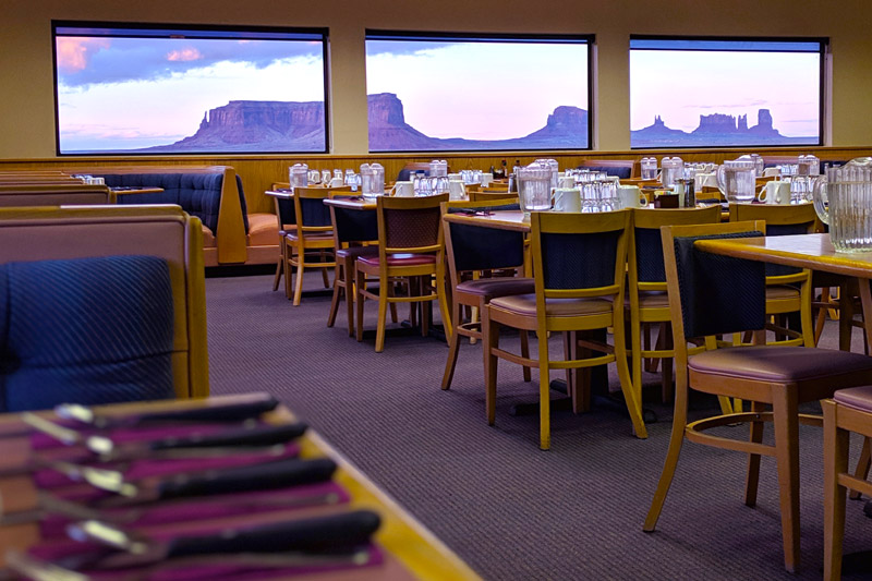 Monument Valley Restaurant Dining Room